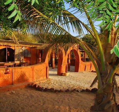 Écolodge de Palmarin, Sine Saloum, Sénégal