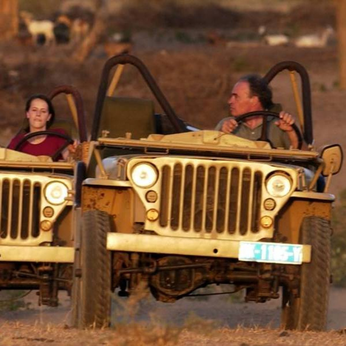 Le Réveillon en Jeep Willys