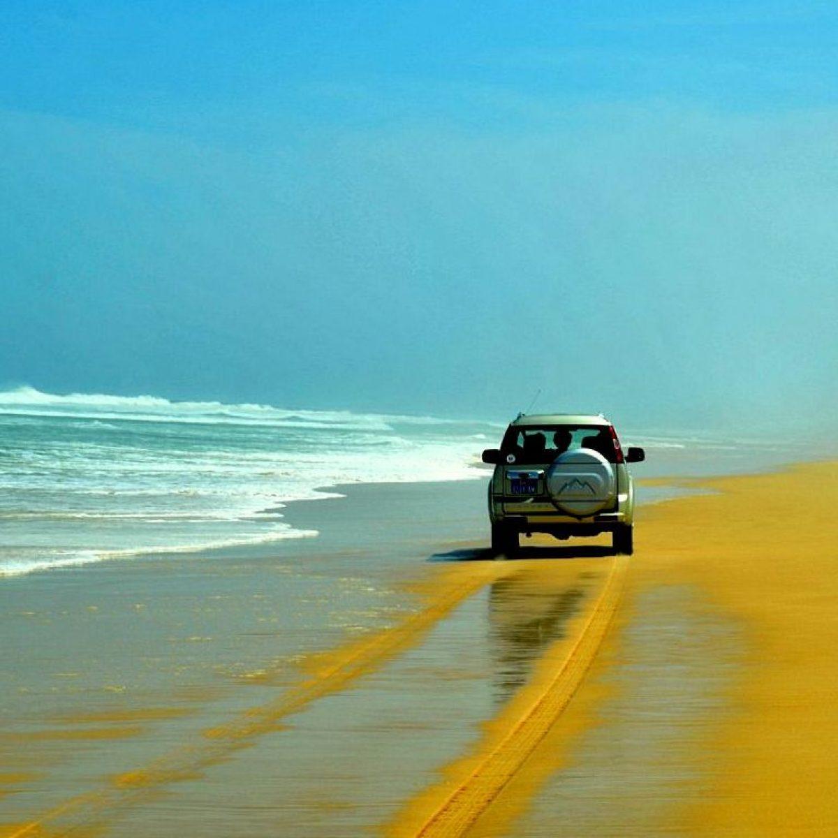 Traslado por la playa