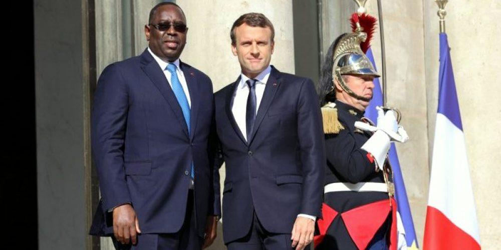 Visite du Président Emmanuel Macron au Sénégal